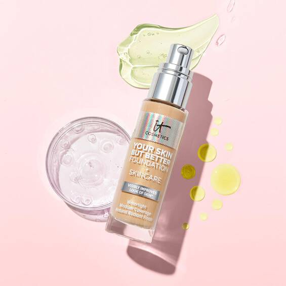 Your Skin But Better Foundation + Skincare